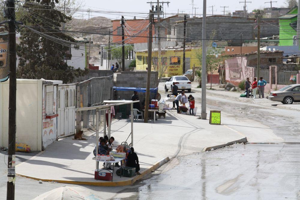 "In Armenviertel wie Felipe Angeles werden viele Jugendliche zu ""Kanonenfutter"" (Foto: Sonja Peteranderl)"